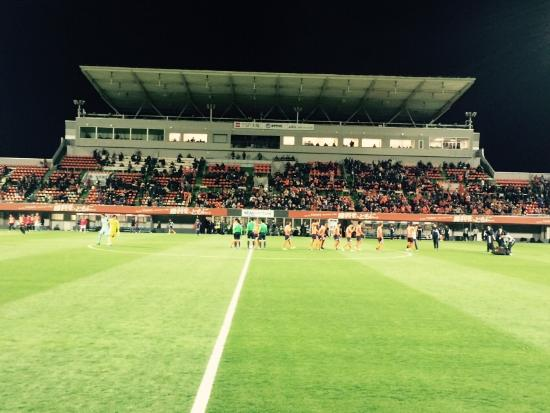 NACK5 Stadium Omiya: 今年はJ2に降格してしまったアルデイージャのホームゲーム