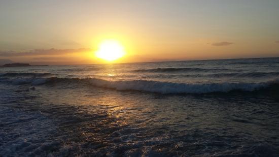 Odyssia Beach Hotel : Widok z pokoju