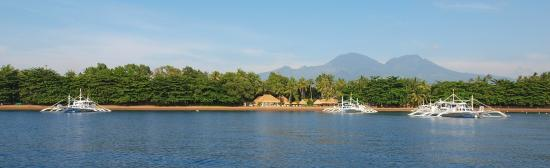 Pura Vida Beach & Dive Resort: View from boat
