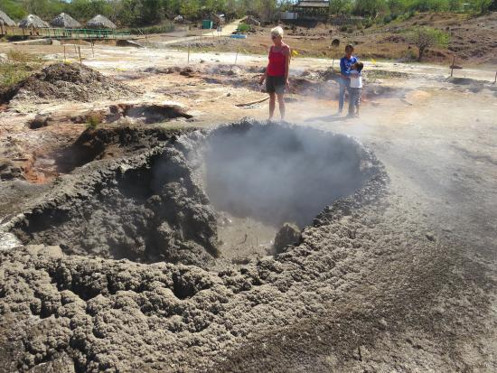 Diriamba, Nicaragua: children's mini volcano