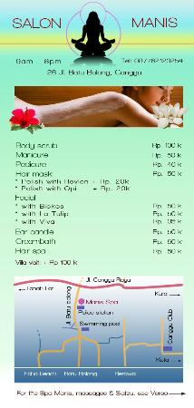spa, small and pretty in canggu