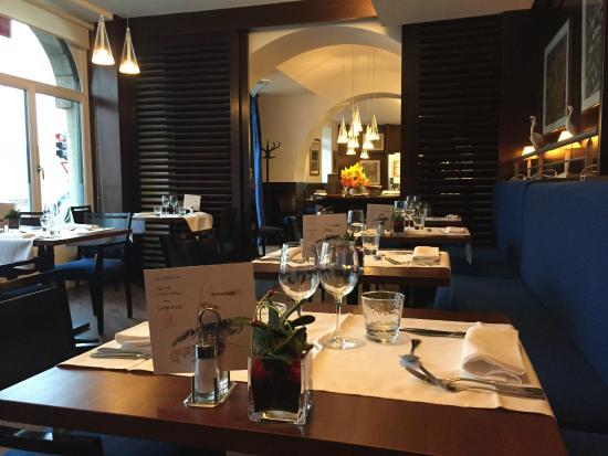 L'Amiral: La salle de restaurant