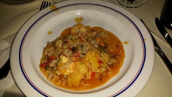 Ja Disse: Fish dish on a plate