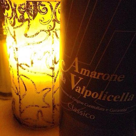 Al's Upstairs Italian Restaurant: A delicious bottle of red I enjoyed with my boyfriend! Wonderful atmosphere!