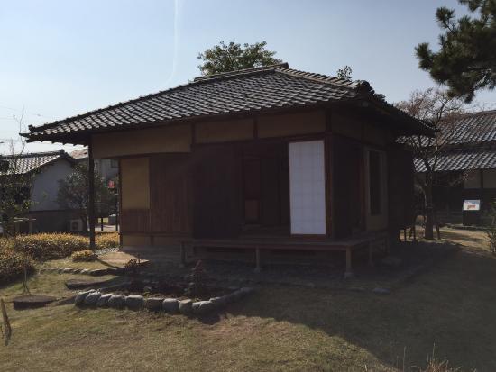 Tanaka Castle: 茶室。