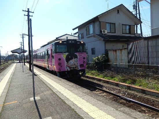JR Sakai Line: ねこ娘トレイン