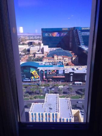 New York - New York Hotel and Casino: View from room 2578