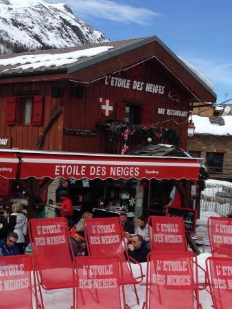 L'Etoiles des Neiges : The restaurant