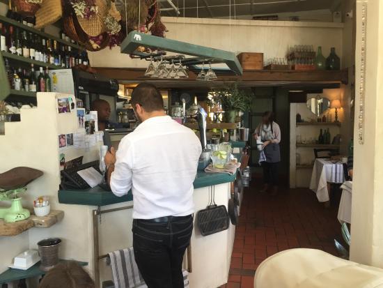 The Sidewalk Cafe: Restaurant interior