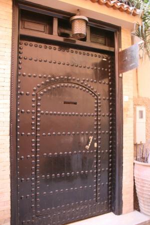 Riad Chayma: Eingangstür