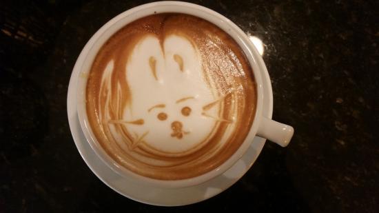 Caffe Vero: Latte art - Easter Bunny