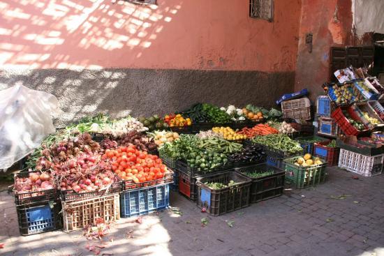 Riad Chayma : Markt Bab Doukkala