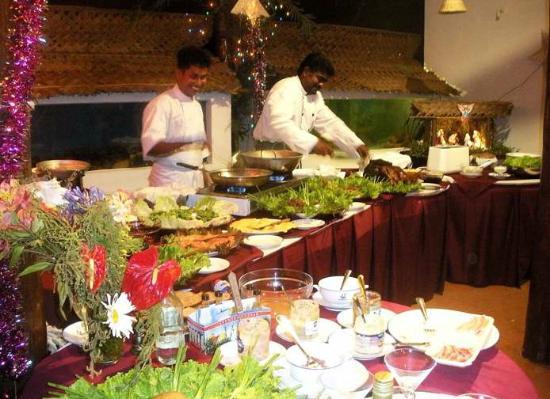 Darga Town, Sri Lanka: Buffet