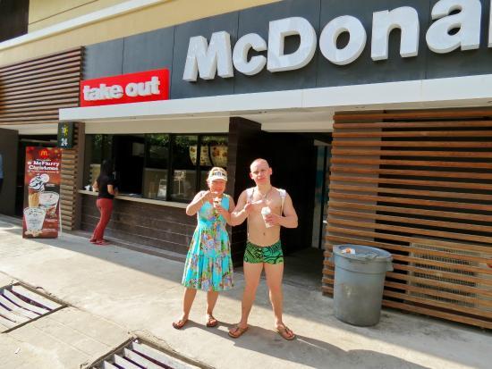 McDonalds Boracay: Типичное удовольствие.