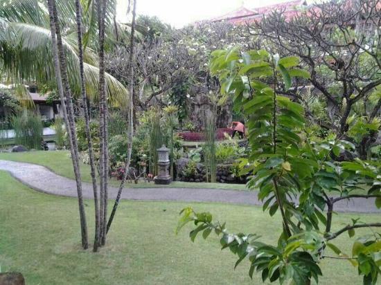 เมเลียบาลีอินโดนีเซีย: Uitzicht vanuit onze kamer