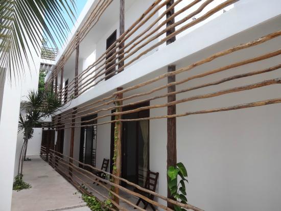 Hotel Latino - corredor