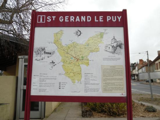 Saint-Gerand-le-Puy, Francja: Saint-Gérand-le-Puy
