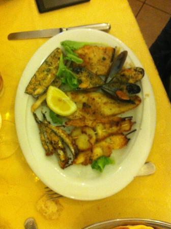 Osteria La Delizia: Grigliata di pesce