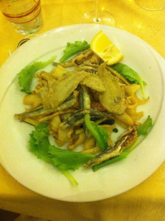 Osteria La Delizia: Fritto misto con verdure