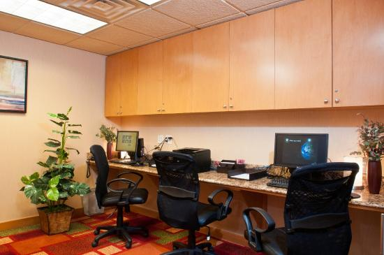 Residence Inn Bridgewater Branchburg: Business Center