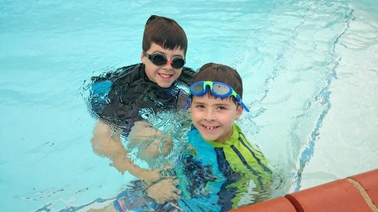 Comfort Inn Merimbula: My children loved the pool area.