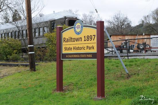 Jamestown, CA: Railtown 1897, State historic Park