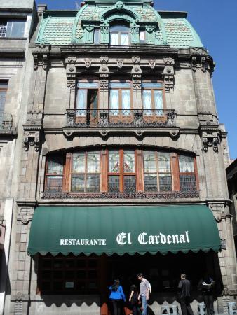 El Toldo Y La Fachada Picture Of Restaurante El Cardenal