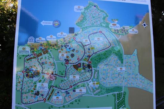 Cofresi Palm Beach Spa Resort Location