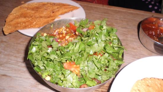 Planet India : Amazing dip which came with papadam