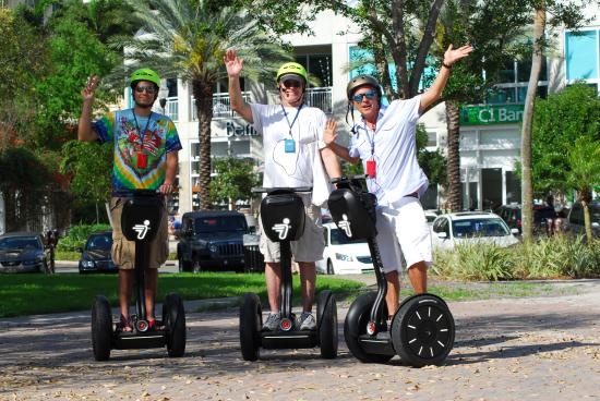 Downtown Segway
