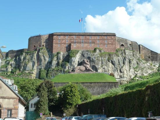 ‪Belfort Citadel & The Lion of Belfort‬