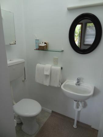 Kaikoura Boutique Hotel: Bathroom