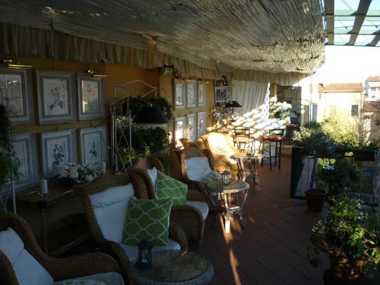 La sala colazione picture of hotel cellai florence for Cellai hotel florence
