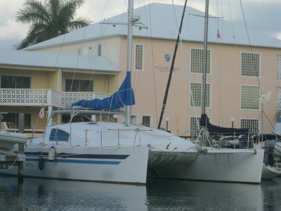 Ocean Reef Yacht Club & Resort: This is a very beautiful boat at Ocean Reef.