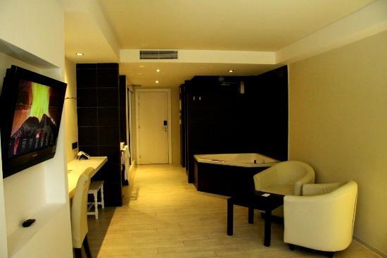 Hotel Spa La Terrassa: Jolie chambre très accueillante et propre