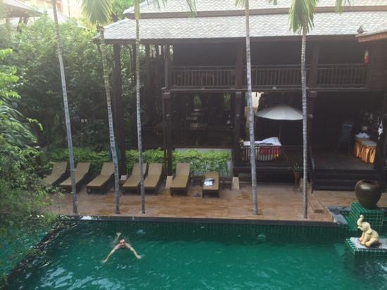 Yantarasiri Resort: view from room 204 balcony