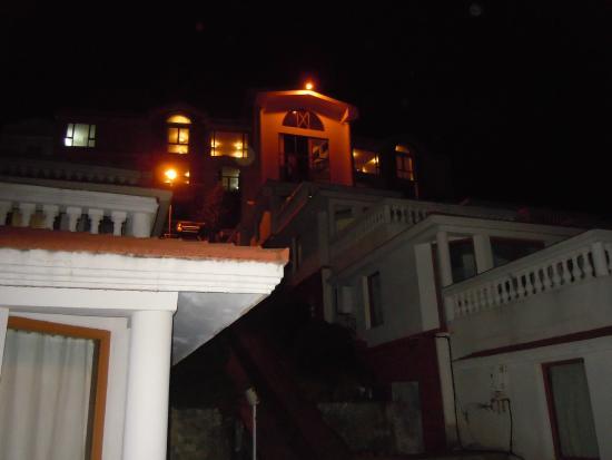 Sagar Holiday Resorts: View from Balcony - Night