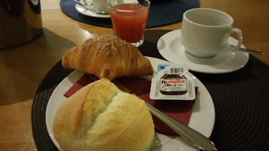 Diepoldsau, Suisse : colazione