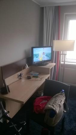 Hotel am Rothenbaum: Schreibtisch
