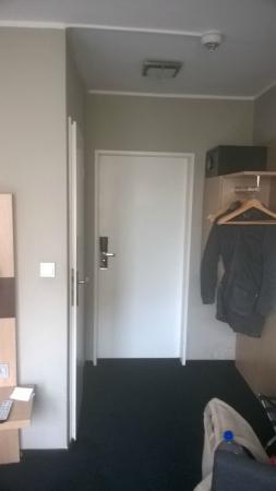 Hotel am Rothenbaum: Eingang zum Zimmer