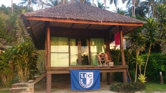 Sabai Beach Resort: ....unser Bungalow...