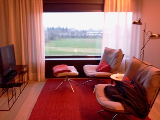 Alma Pamplona Muga de Beloso: habitación con vistas