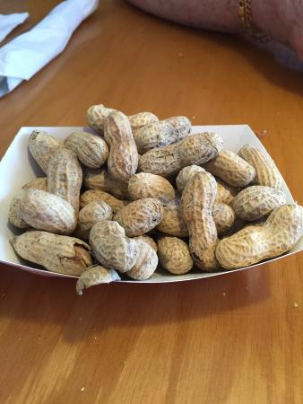 Shells: Peanuts for the table