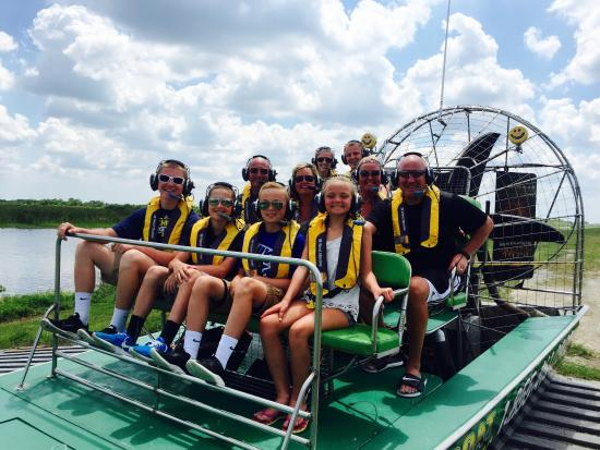 Florida Airboat Excursions : Tons of fun! Educational, funny and first class Captain.