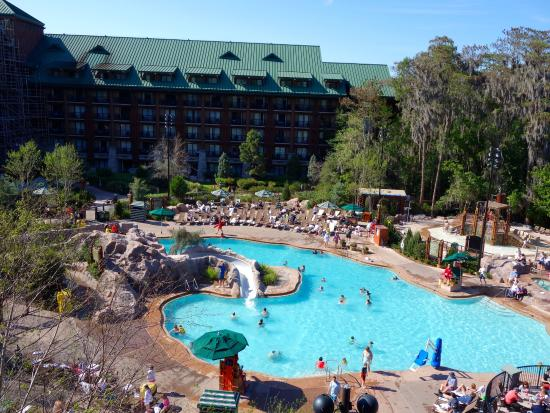 Pool - Picture of Disney's Wilderness Lodge, Orlando ...