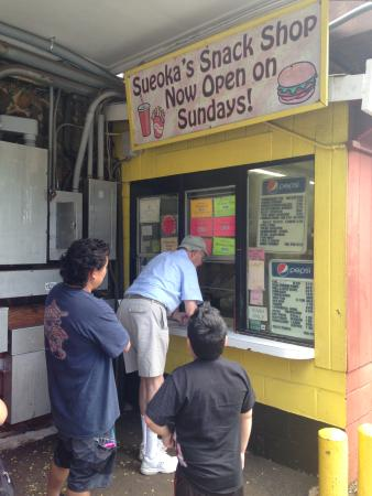 Sueoka Snack Shop (hole in the wall)