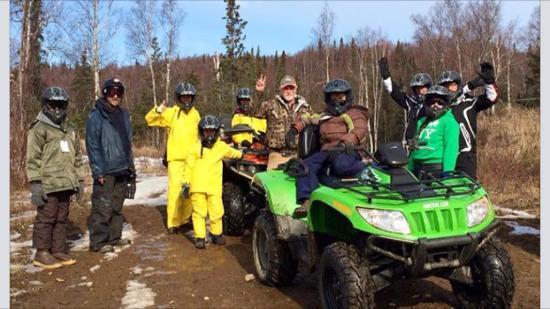 Heiny's ATV Adventures: Thursday March 31, 2015 at Zero Lake