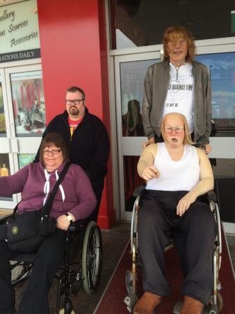 Madame Tussauds Blackpool: Replica