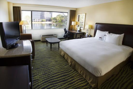 DoubleTree Club by Hilton Orange County Airport: One King Guest Room with View