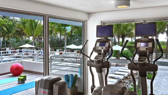 Royal Palm South Beach Miami A Tribute Portfolio Resort Poolside Terrace Fitness Center